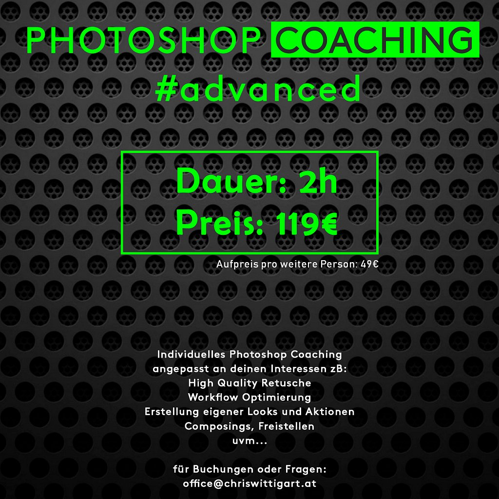photoshop personal coaching